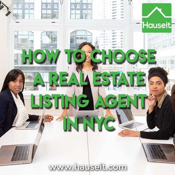 Choosing a real estate listing agent in NYC can be a challenge for sellers who do not want to pay 6 percent in NYC commissions. Learn how to save.