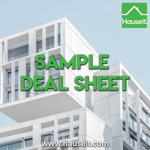 Need to prepare a real estate deal sheet for your NYC FSBO sale? Learn how to prepare and send a deal sheet in NYC. Use our Excel deal sheet template.