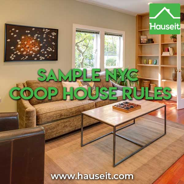 Sample NYC Coop House Rules