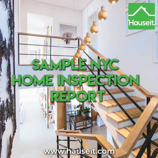 Sample NYC Home Inspection Report