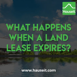 Land lease buildings are known to trade at a discount because of the uncertainty associated with lease renewals. But what happens when a land lease expires?