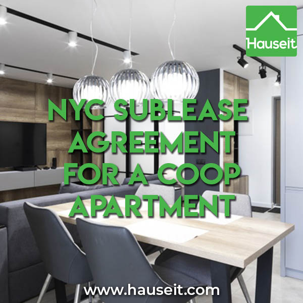 NYC Sublease Agreement for a Coop Apartment