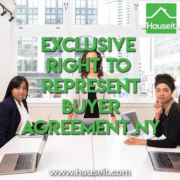 Exclusive Right To Represent Buyer Agreement NY