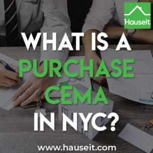 What is a Purchase CEMA mortgage in NYC? Are purchase CEMA loans worthwhile?