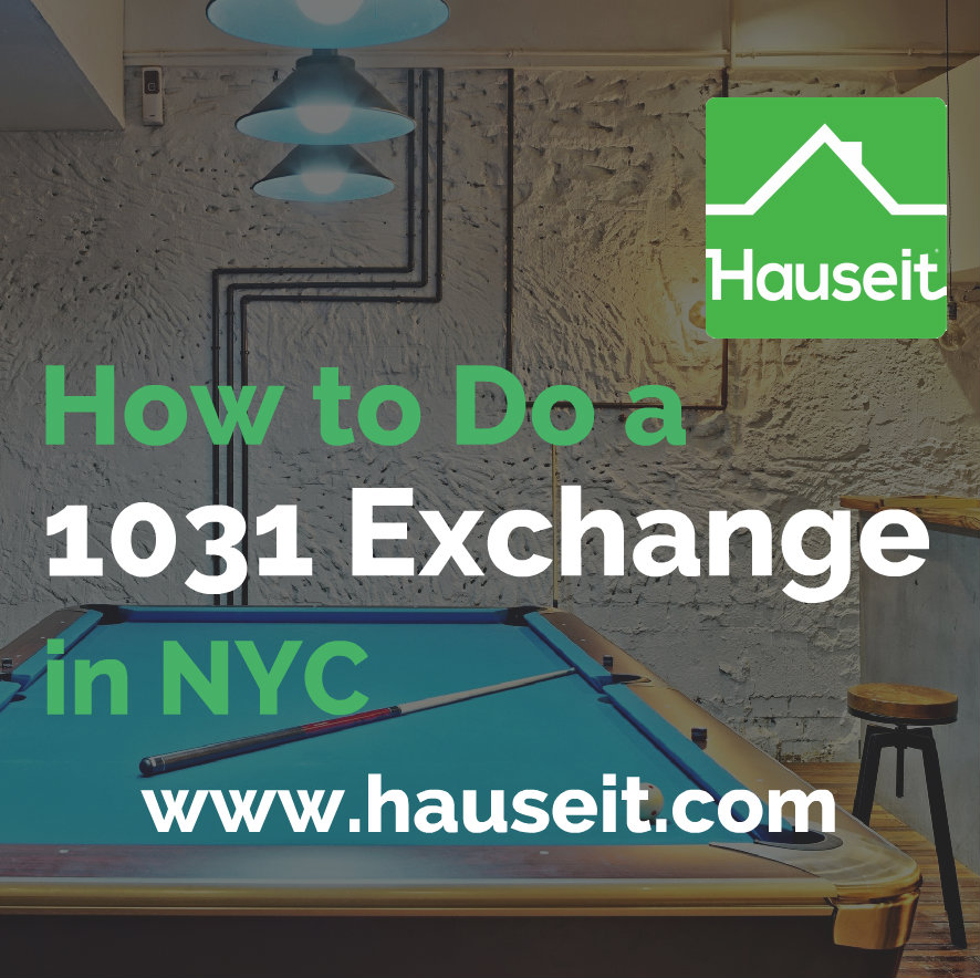 This complete guide on section 1031 property exchanges covers the latest 1031 exchange rules & the particulars of the 1031 exchange process in NYC.