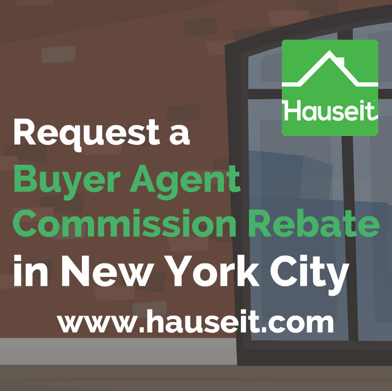 Discreetly receive a NYC broker commission rebate without risking your deal! Save $20,000 or more on your New York home purchase with a rebate of the buyer's broker fee. Our brand name partner brokers never openly discount and have great working relationships with other brokers. Best Rebate Guarantee.