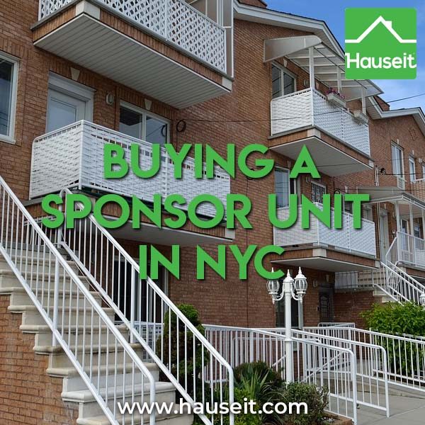What is a sponsor unit? What are the advantages to buying a sponsor apartment in New York City? What are the negatives to buying a sponsor unit co op? What are some nuances to calculating transfer taxes owed for a sponsor sale coop? We'll teach you everything you need to know about buying a sponsor unit in NYC.