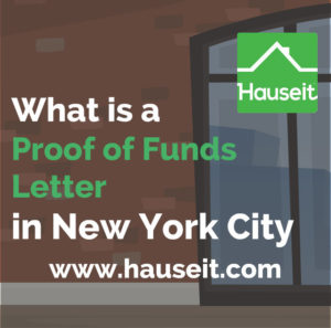 What constitutes proof of funds when making an all cash offer on real estate? Can you get away with only submitting proof of funds or do you need to provide other documentation? What does a sample proof of funds letter from a bank look like? We'll teach you everything you need to know about proof of funds in NYC.