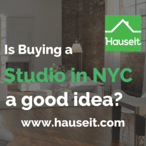 What are the pros and cons to buying a studio in NYC? Is it easy to convert a studio to a one bedroom apartment? Is it easy to resell a studio apartment after you've outgrown it? We'll go over the reasons why and why not to buy a studio or loft apartment in NYC in this article.