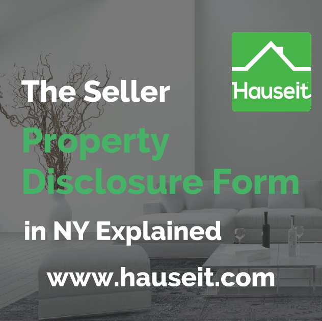 What is the seller property disclosure form in NY? Is it mandatory and what is the penalty for incompletion? What do sellers typically do in New York?