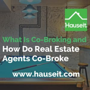 What does co-broke mean? What is this concept of co-broking that NYC real estate agents keep referencing? Sample co broker agreement and more explained.