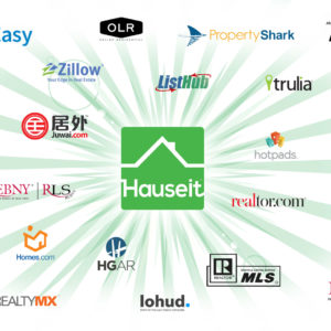 Hauseit listing syndication features your home on hundreds of popular real estate websites all at once.