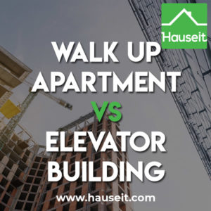 What's the benefit of buying a walk up apartment vs elevator building apartment? What are some considerations to buying a walkup unit?