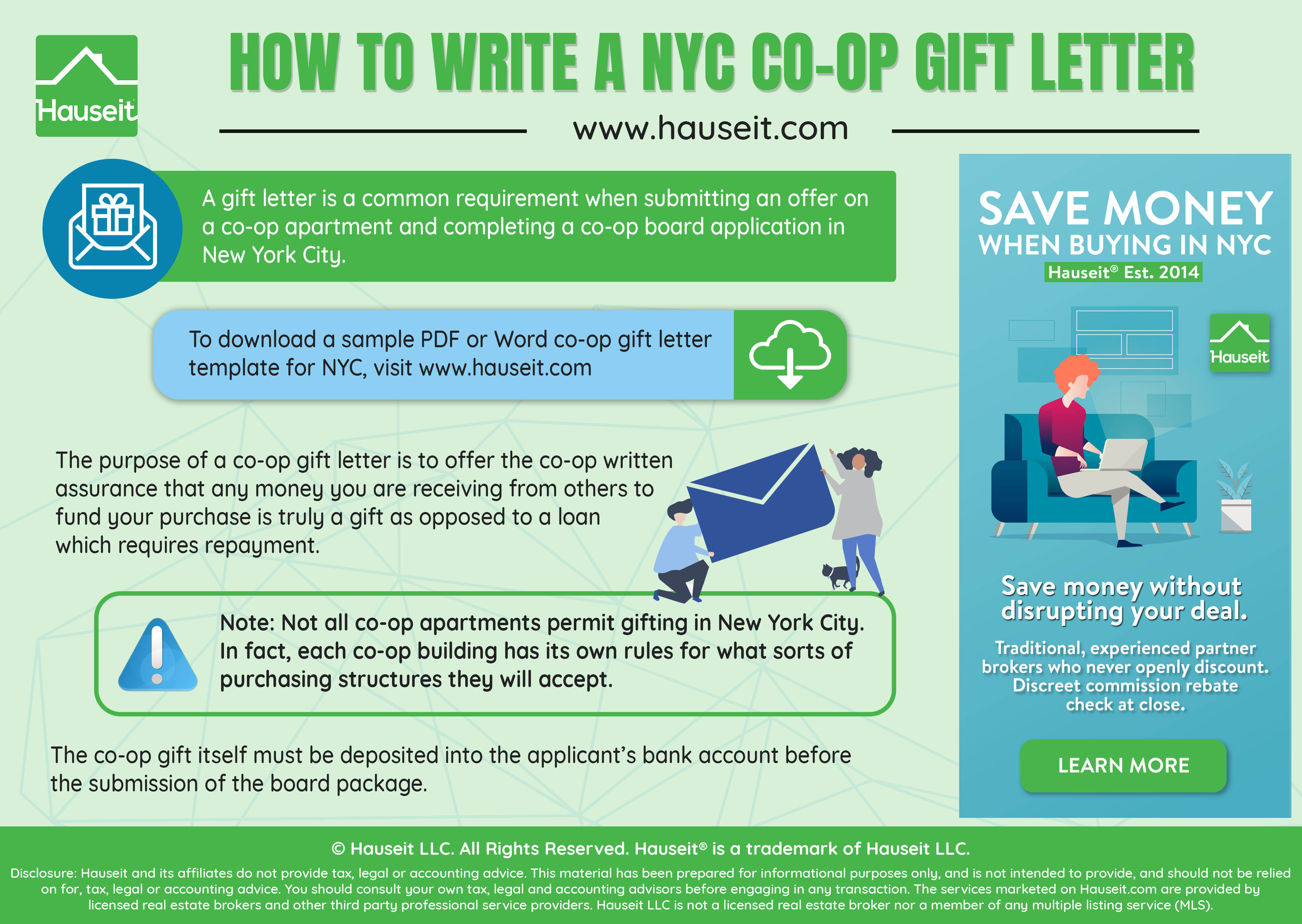 What Is A Gift Letter In NYC Real Estate Common