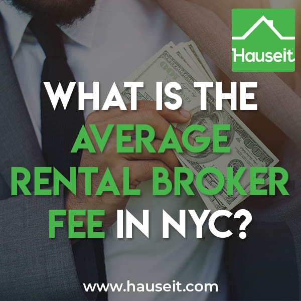 The typical broker fee in New York City ranges from one month (equivalent to 8.33% of annual rent) up to 15% of annual rent. Broker fees vary by listing.