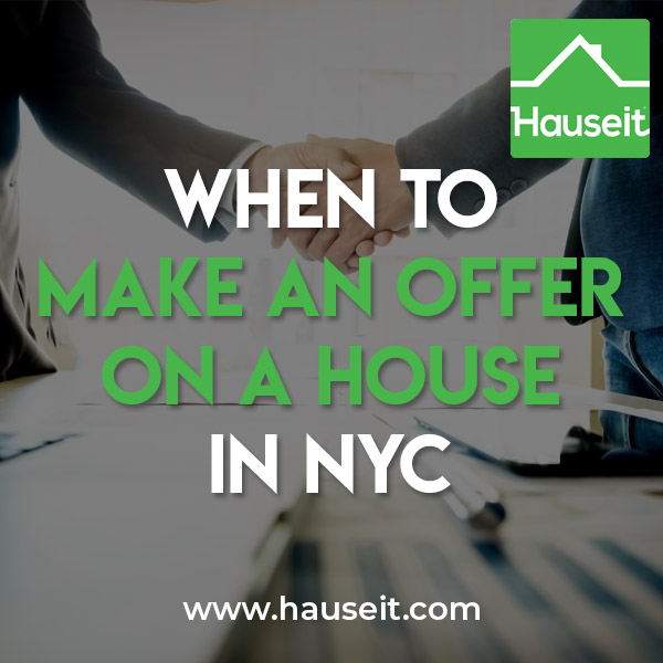 You should make an offer on a house immediately and as early as possible to give yourself a maximum head start vs other potential bidders. The only exceptions are if there is an imminent open house or a best and final offer deadline which we'll discuss in the following article.