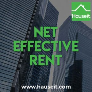 Net effective rent is an increasingly common marketing tactic for landlords in NYC. Net effective rent is the average monthly rent during the lease term.