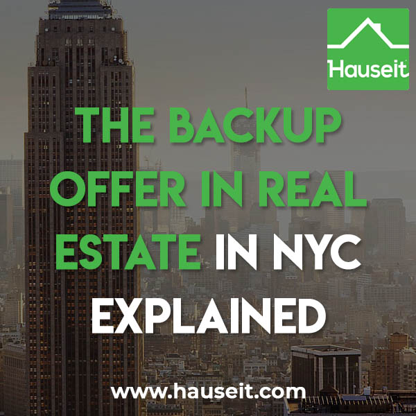 A backup offer is an offer that the seller hasn't accepted, but is strong enough and close enough to the accepted offer that the seller would like to revisit it should the accepted offer fall through.