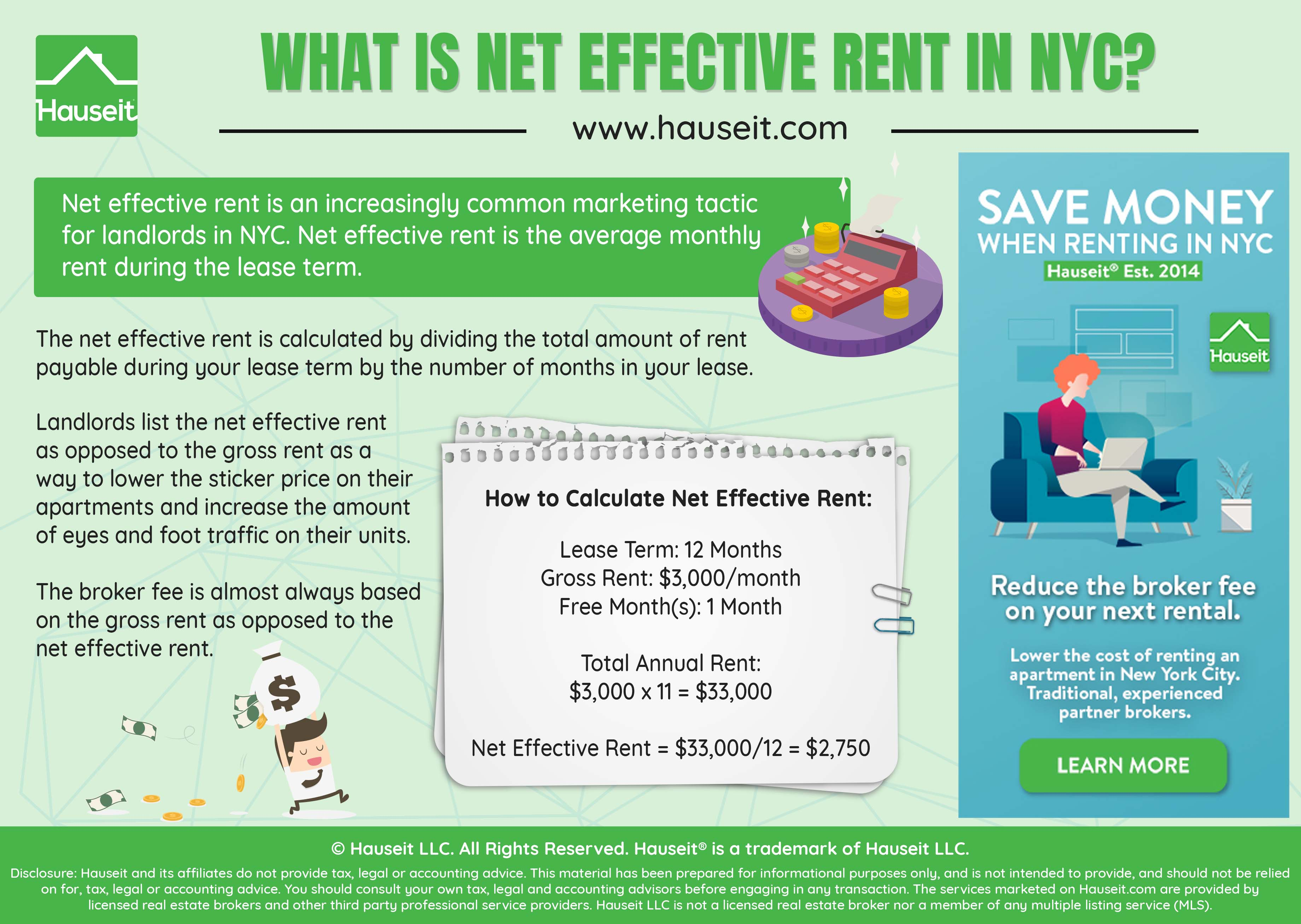 What Does Net Effective Mean Rentals Nyc
