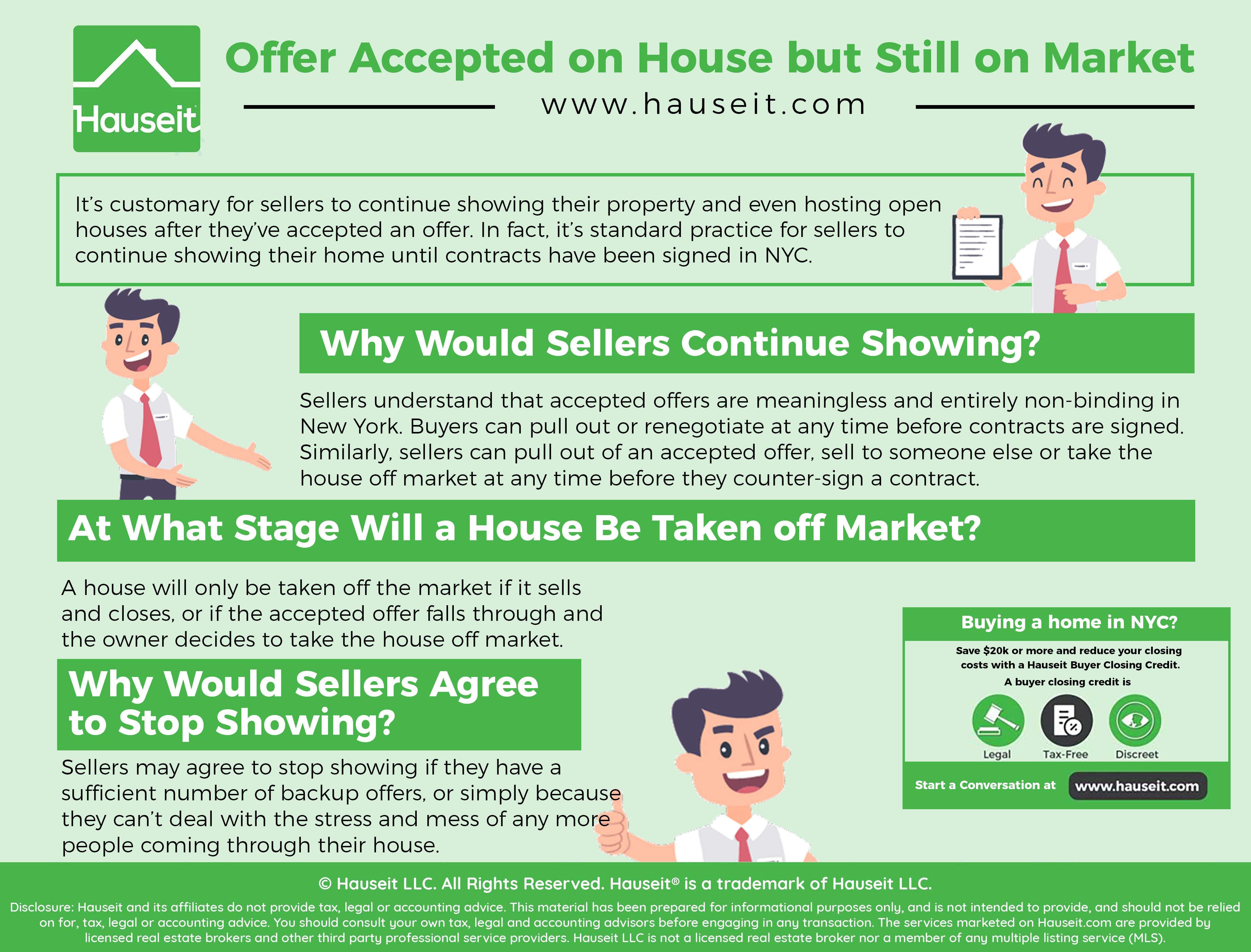 Offer Accepted On House But Still On Market What Can You Do About It Buying A Condo Visiting Nyc Home Buying