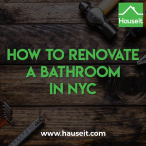Admirable How To Renovate A Bathroom In Nyc 2019 Hauseit Download Free Architecture Designs Scobabritishbridgeorg