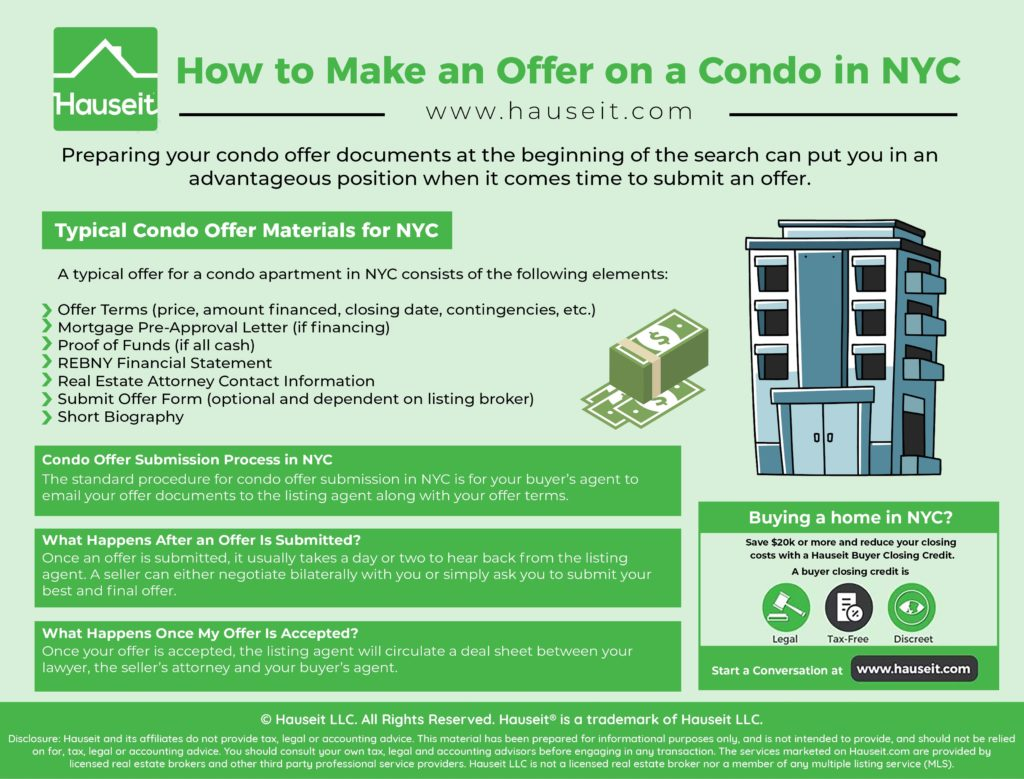 Knowing how to make an offer on a condo in NYC is something you should learn well in advance of finding your dream apartment.