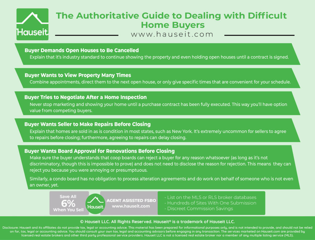 The Authoritative Guide to Dealing with Difficult Home Buyers | Hauseit®