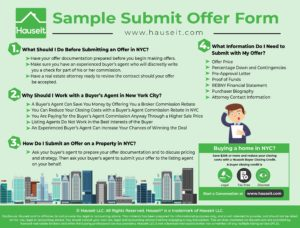 Buying a property in NYC? Learn how to submit an offer on a condo or coop and save money by requesting a NYC broker commission rebate on your purchase.
