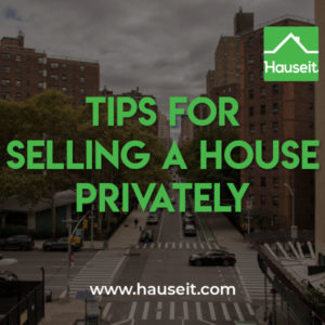 Selling a house privately involves trading full buyer exposure for more personal privacy. MLS only, FSBO or pocket listings are typical ways to sell privately.