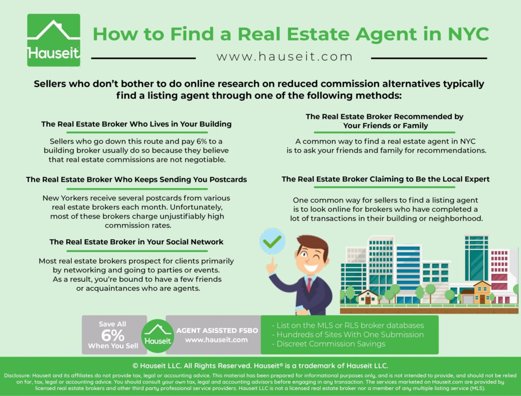 We'll break down the most common advice and methods you'll find on the internet on how to find a real estate agent in NYC and give you some insider tips that brokers won't want you to find out.