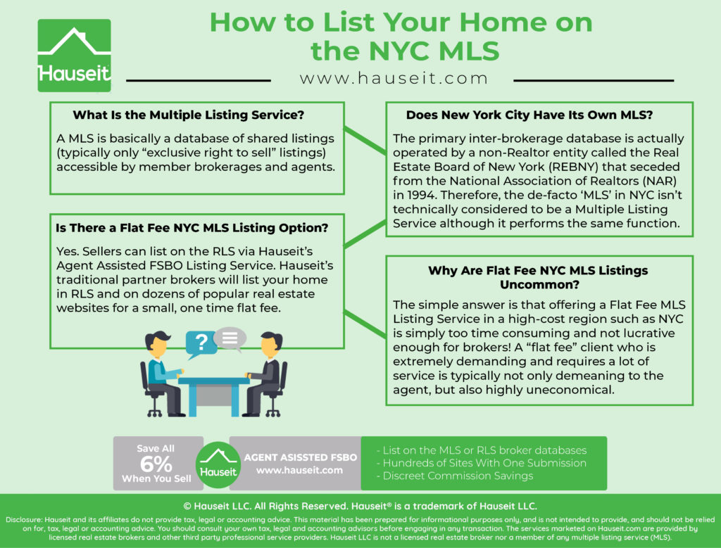 "A MLS is basically a database of shared listings (typically only ""exclusive right to sell"" listings) accessible by member brokerages and agents."