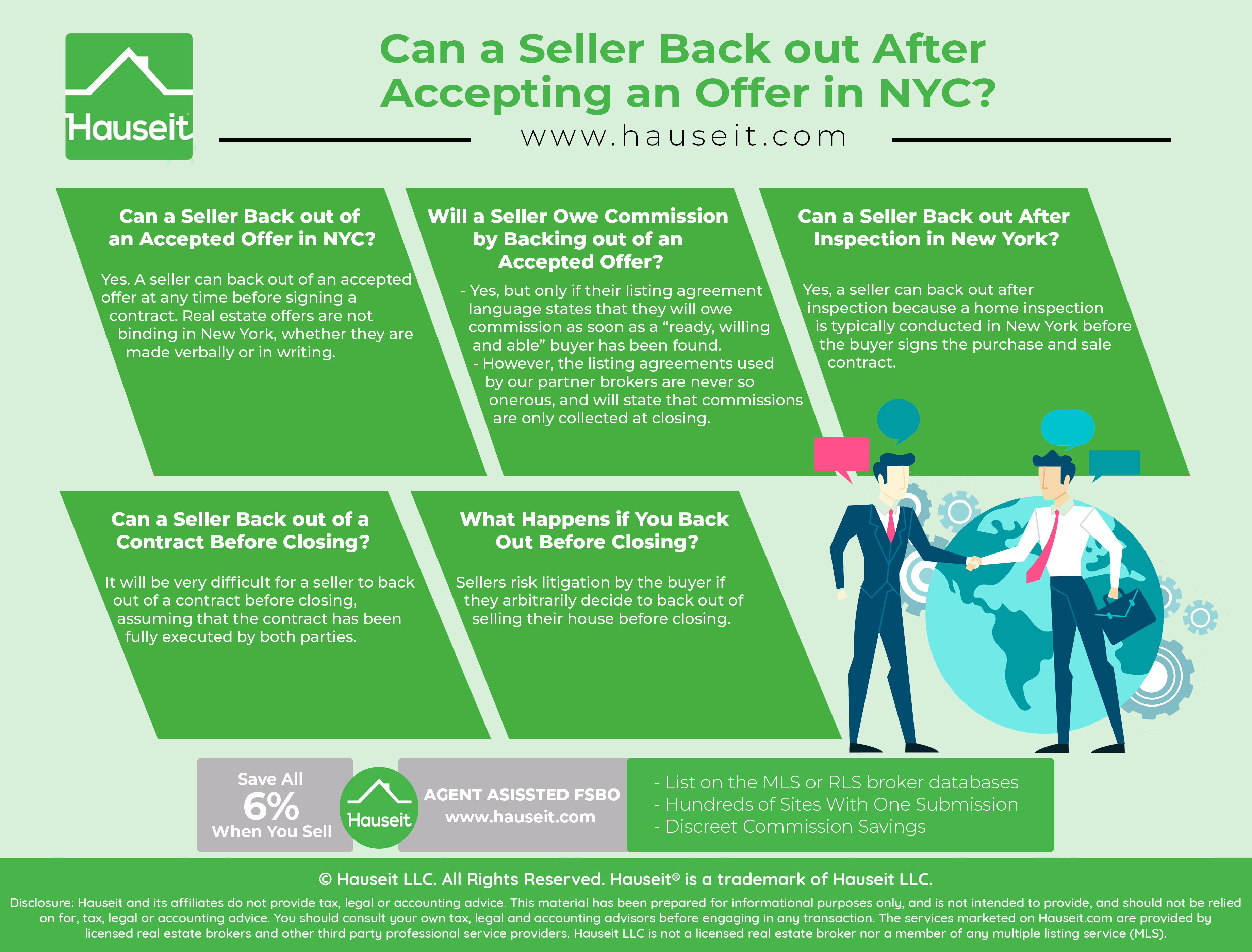Yes. A seller can back out of an accepted offer at any time before signing a contract. Real estate offers are not binding in New York, whether they are made verbally or in writing.