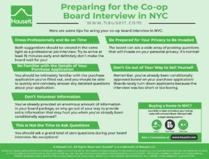 How should you go about preparing for the co op board interview? Read our time tested tips and advice from industry insiders who have seen it all.