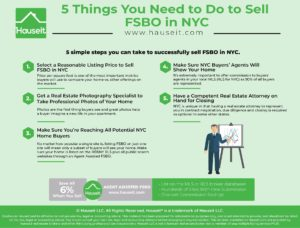 Selling FSBO in NYC is a challenge that requires preparation and research. Here are 5 things you must do to succeed if you want to sell your home without an agent in NYC.