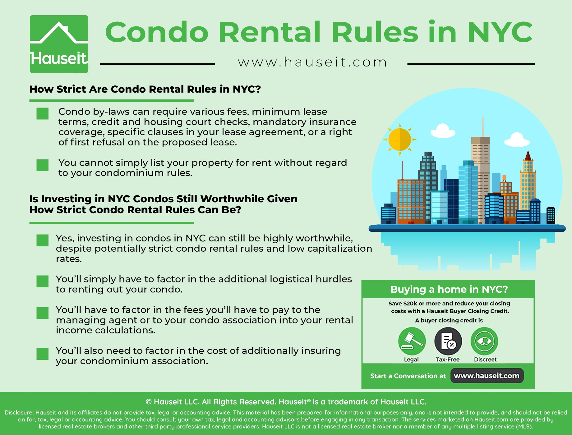 How strict are condo rental rules in NYC? Are there any landlord rules or special condo rules I must follow before renting out my apartment? What are some examples or samples of condo rental rules? We'll explain how to rent out a condo while abiding by the condominium rules in your building!