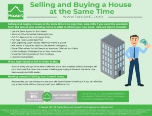 Selling and buying a house at the same time is no easy feat, especially if you need the proceeds from the sale of your existing home in order to afford your new place.