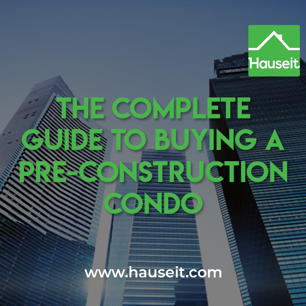 How to get Schedule A pricing, allowed variances, outside dates, delays in construction when buying a pre-construction condo and more explained.