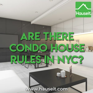 Condo house rules exist just like house rules exist for co-ops. Condos can be as strict as co-ops. Key differences include ROFR vs right of approval & more.