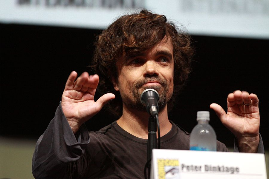 Best known for his portrayal of Tyrion Lannister in Game of Thrones, Peter Dinklage and his family are a regular sight in the West Village of Manhattan.