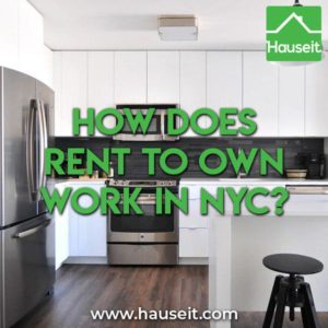 Rent to own is rare in NYC due to strict financial requirements by banks & co-ops around DTI ratios and post closing liquidity. However, it is possible.