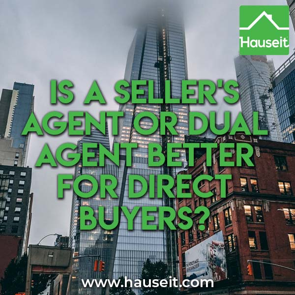 Listing agents often try to get direct buyers to agree to dual agency. But is a seller's agent or dual agent better? Does agency affect commission splits?