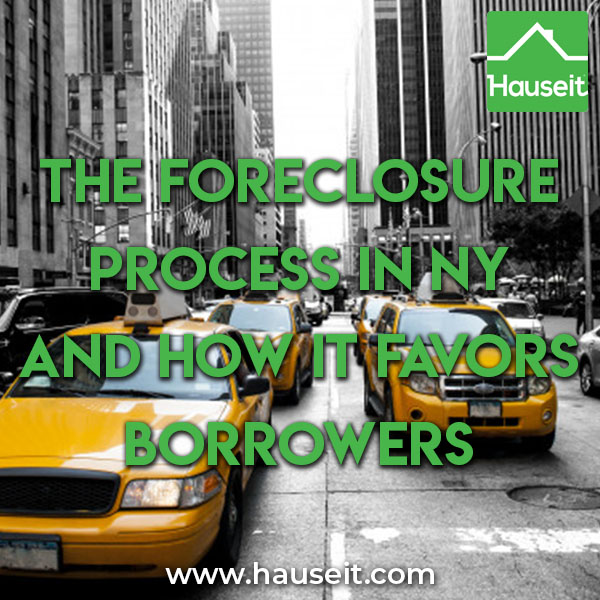 The foreclosure process can take multiple years in New York, which is a non-judicial foreclosure state. Step by step process, delaying tactics & more.