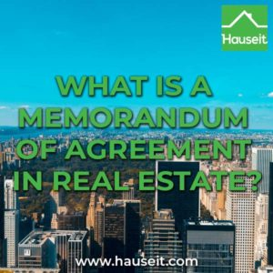 A memorandum of agreement in real estate is a proposed transaction summary that is sent around after an offer has been accepted. Is it binding though?