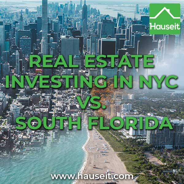 A small real estate investor shares and compares her experiences with owning and managing residential rental properties in NYC and South Florida.