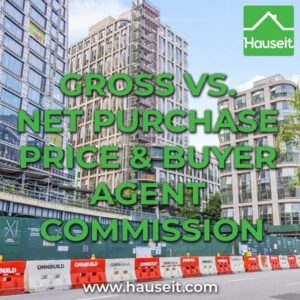 The buyer agent commission on new developments in NYC is based on the net purchase price which excludes any fees or credits covered by the developer.
