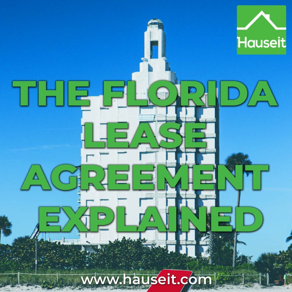 """As we go over a sample Florida lease agreement, you'll see that it's more of a """"fill-in-the-blank"""" form vs a customized contract."""
